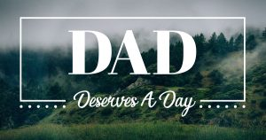DAD Deserves A Day Zentury Fathers Day Promotion