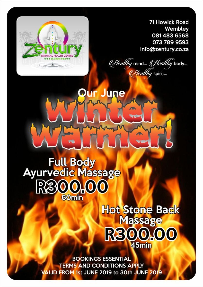 Ayurvedic Full body Massage Special Hot Stone Massage Promotion Pietermaritzburg