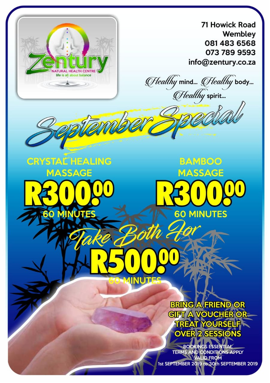 September Massage Special