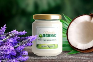Naturally Organic 3 in 1 Face, Hair & Body Cream